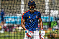 Feroze Kushi of Essex bats in the nets during Essex CCC Training at The Cloudfm County Ground on 22nd July 2020