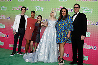 "LOS ANGELES - JAN 25:  Daniel DiMaggio, Carly Hughes, Julia Butters, Meg Donnelly, Katy Mixon, Diedrich Bader at the ""Zombies 2"" Screening at the Disney Studios on January 25, 2020 in Burbank, CA"