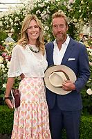 Ben Fogle and wife<br /> at the Chelsea Flower Show 2018, London<br /> <br /> ©Ash Knotek  D3402  21/05/2018