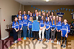 "Fr. Casey's GAA ""Family Night at the Dogs"" launch was held last Saturday night in Fr. Casey's clubhouse with guest speaker Michéal O' Muircheartaigh. U14 girls."