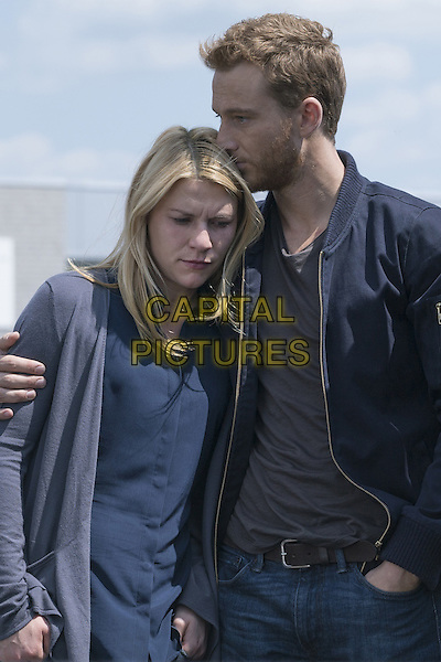 Homeland (2011-)<br /> (Season 5)<br /> Claire Danes as Carrie Mathison and Alexander Fehling as Jonas<br /> *Filmstill - Editorial Use Only*<br /> CAP/FB<br /> Image supplied by Capital Pictures