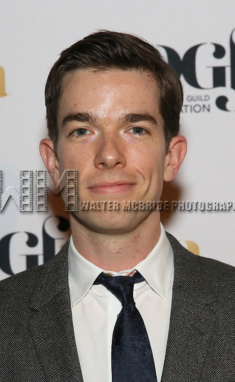 John Mulaney attends 2017 Dramatists Guild Foundation Gala reception at Gotham Hall on November 6, 2017 in New York City.