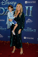 Hollywood, CA - NOV 07:  Molly Simms attends the world premiere of Disney's 'Frozen II' at the Dolby Theatre on November 7, 2019 in Los Angeles CA.   <br /> CAP/MPI/IS<br /> ©IS/MPI/Capital Pictures