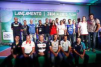 SAO PAULO, SP, 21.10.2014 - FESTA DE LANCAMENTO 21ª SUPERLIGA DE VOLEI 2014/2015.  Comissões técnicas das equipes  de volei durante festa de lançamento da 21ª superliga de volei. Esperada como uma das temporadas mais equilibradas dos últimos anos, a Superliga masculina e feminina de vôlei 2014/2015 terá início no dia 25 de outubro. A  festa de lançamento aconteceu na manhã de  terça-feira (21.10), , no Hotel Pestana, na zona sul da capital paulista. (Foto: Adriana Spaca / Brazil Photo Press)
