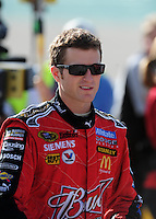 Nov. 14, 2008; Homestead, FL, USA; NASCAR Sprint Cup Series driver Kasey Kahne during qualifying for the Ford 400 at Homestead Miami Speedway. Mandatory Credit: Mark J. Rebilas-