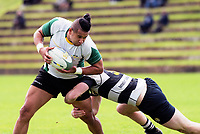 Action from the Wellington Swindale Shield premier club rugby match between Old Boys University and Oriental-Rongotai at Nairnville Park in Wellington, New Zealand on Saturday, 14 April 2018. Photo: Dave Lintott / lintottphoto.co.nz