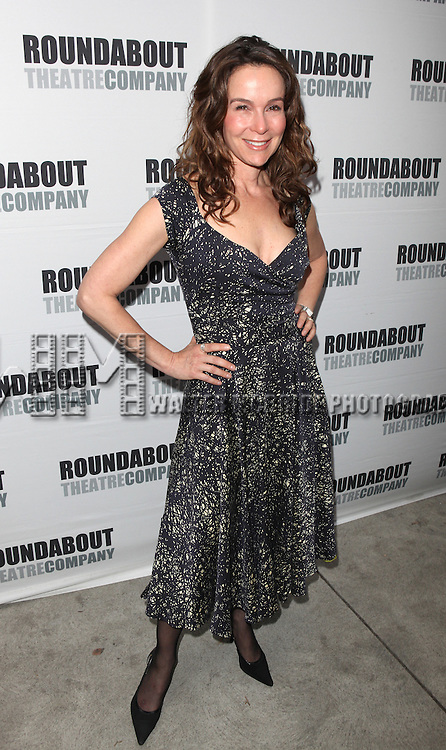 Jennifer Grey.attending the Opening Night Performance of The Roundabout Theatre Company's Broadway Production of 'Anything Goes'  in New York City.