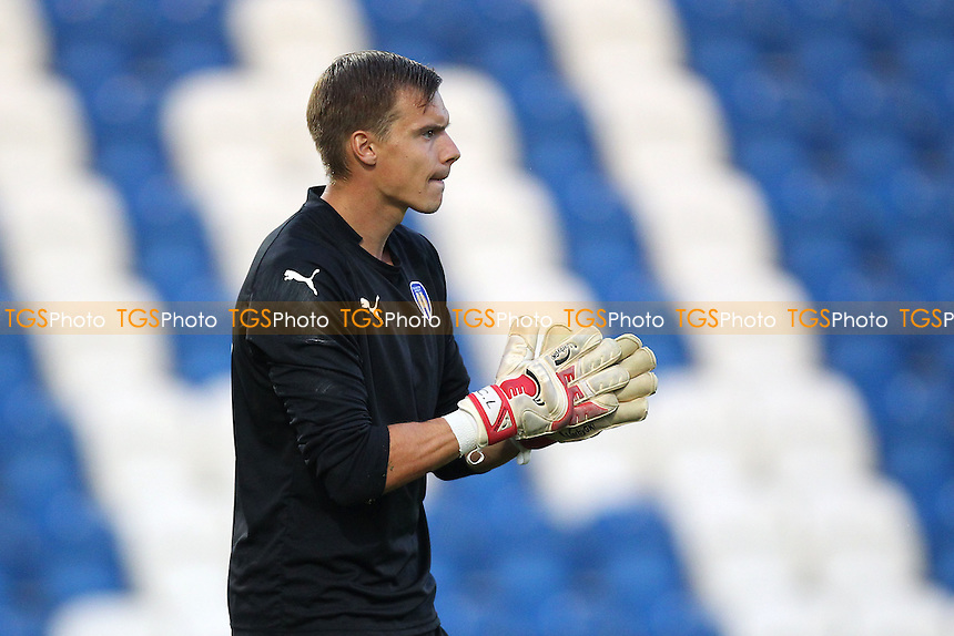 Chris Lewington of Colchester United - Colchester United vs Ipswich Town - Pre-Season Friendly Football Match at the Weston Homes Community Stadium, Colchester, Essex - 23/07/14 - MANDATORY CREDIT: Gavin Ellis/TGSPHOTO - Self billing applies where appropriate - contact@tgsphoto.co.uk - NO UNPAID USE