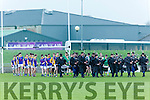 At the Munster Schools Under 18 1/2 Corn Uí Mhuirí Final Tralee CBS v St Brendans College on Saturday at Austin Stack Park.