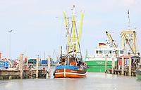Kutter Gorch Fock im Hafen von Neuharlingersiel - 16.08.2018: Fischfang und Rundfahrt von Neuharlingersiel