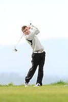 Daniel O'Connor (Athlone) during round 2 of The West of Ireland Amateur Open in Co. Sligo Golf Club on Saturday 19th April 2014.<br /> Picture:  Thos Caffrey / www.golffile.ie