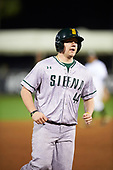Siena Saints pinch hitter Nico Ramos (44) during a game against the UCF Knights on February 17, 2017 at UCF Baseball Complex in Orlando, Florida.  UCF defeated Siena 17-6.  (Mike Janes/Four Seam Images)