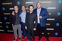 Scott Lawrence, Peter Farrelly, Ron Livingston und Will Sasso beim Screening der AT&T Audience Network TV-Serie 'Mr. Mercedes' im Beverly Hilton Hotel. Beverly Hills, 25.07.2015