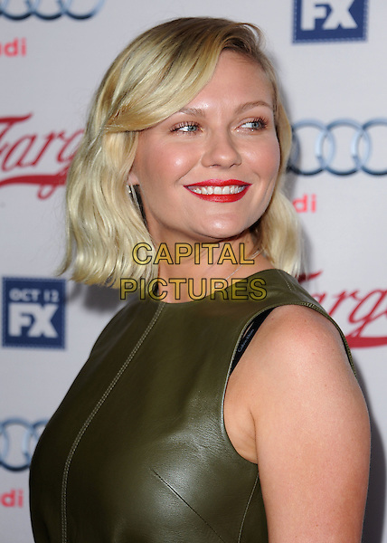 LOS ANGELES - OCTOBER 7:  Kirsten Dunst arrives at the red carpet premiere screening of FX's 'Fargo' at the ArcLight Hollywood on October 7, 2015 in Los Angeles, California. <br /> CAP/MPI/SKPG<br /> &copy;SKPG/MPI/Capital Pictures