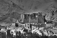 Leh Palace Now in Ruins Ladakh Jammu Kashmir India