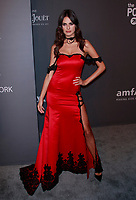 NEW YORK, NY - FEBRUARY 6: Bojana Krsmanovic arriving at the 21st annual amfAR Gala New York benefit for AIDS research during New York Fashion Week at Cipriani Wall Street in New York City on February 6, 2019. <br /> CAP/MPI99<br /> ©MPI99/Capital Pictures