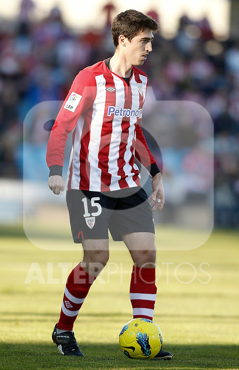 Athletic de Bilbao's Andoni Iraola during La Liga Match. January 08, 2012. (ALTERPHOTOS/Alvaro Hernandez)