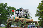 6th May 2017, Nicky Roncoroni riding Stonedge during the Cross Country phase of the 2017 Mitsubishi Motors Badminton Horse Trials, Badminton House, Bristol, United Kingdom. Jonathan Clarke/JPC Images
