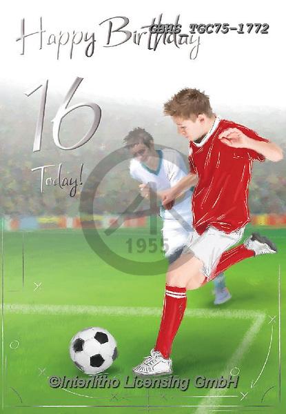 John, TEENAGERS, JUGENDLICHE, JÓVENES,soccer, paintings+++++,GBHSTGC75-1772,#j#, EVERYDAY