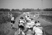 the grass is sometimes easier to ride than the cobbles<br /> <br /> 90th Schaal Sels 2015