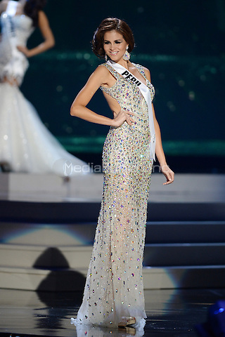 MIAMI, FL - JANUARY 21: Miss Peru Jimena Espinosa participtates in The 63rd Annual Miss Universe Preliminary Show at Florida International University on January 21, 2015 in Miami, Florida. Credit: mpi04/MediaPunch ***NO NY DAILIES OR NEWSPAPERS***