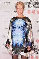 Emma Thompson arriving for the Moet British Independent Film Awards 2014, London. 07/12/2014 Picture by: Alexandra Glen / Featureflash