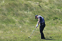Harry Ellis (AM)(ENG) plays his 2nd shot on the 14th hole during Thursday's Round 1 of the 118th U.S. Open Championship 2018, held at Shinnecock Hills Club, Southampton, New Jersey, USA. 14th June 2018.<br /> Picture: Eoin Clarke | Golffile<br /> <br /> <br /> All photos usage must carry mandatory copyright credit (&copy; Golffile | Eoin Clarke)
