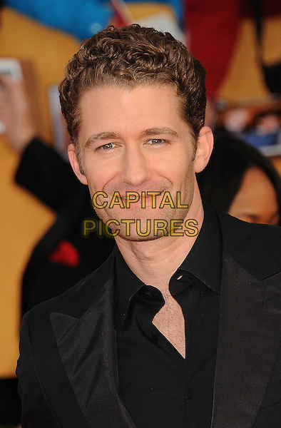 MATTHEW MORRISON.The 17th Screen Actors Guild Awards held at The Shrine Auditorium in Los Angeles, California, USA,.January 30th 2011..SAG Sags arrivals headshot portrait black unbuttoned.CAP/ROT/TM.©Tony Michaels/Lee Roth/Capital Pictures