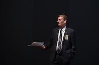 SEC Academic Leadership Development Program (SEC ALDP) Best Practices for Management of Classrooms and Campus Crisis Training - Chief of campus police, Vance Rice<br />  (photo by Beth Wynn / &copy; Mississippi State University)