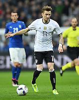 FUSSBALL INTERNATIONAL TESTSPIEL in Muenchen in der Allianz Arena Deutschland - Italien    29.03.2016  Marco Reus (Deutschland) am Ball