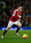 Wayne Rooney of Manchester United in action - English Premier League - Manchester Utd vs Chelsea - Old Trafford Stadium - Manchester - England - 28th December 2015 - Picture Simon Bellis/Sportimage