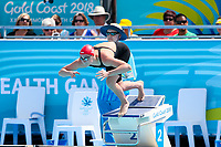 Picture by Alex Whitehead/SWpix.com - 05/04/2018 - Commonwealth Games - Swimming - Optus Aquatics Centre, Gold Coast, Australia - Molly Renshaw of England competes in the Women's 50m Breaststroke heats.