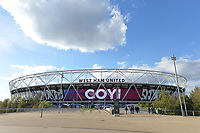 Olympic Stadium during West Ham United vs Burnley, Premier League Football at The London Stadium on 3rd November 2018