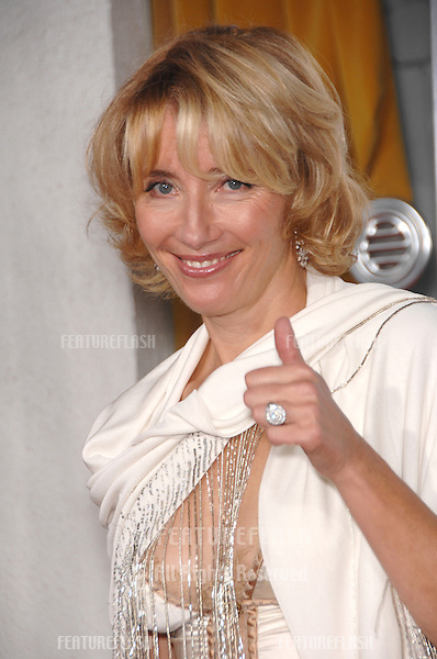 "EMMA THOMPSON at the Los Angeles premiere of her new movie ""Stranger than Fiction""..October 30, 2006  Los Angeles, CA.Picture: Paul Smith / Featureflash"