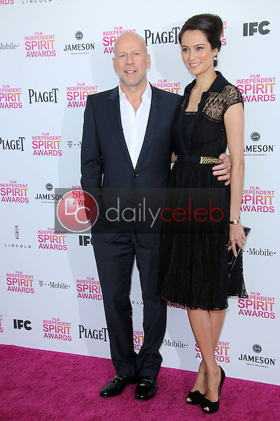 Bruce Willis, Emma Heming<br />