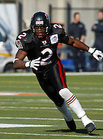 Donnavan Carter Ottawa Renegades 2003. Photo Scott Grant
