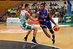 Basketball Champions League 2017/18 - Previus.<br /> Divina Seguros Joventut vs Dinamo Tbilisi: 86-66.<br /> Nenad Dimitrijevic vs Boyd Lavell Lafrey.