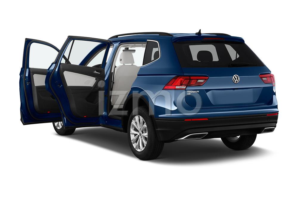 Car images close up view of a 2019 Volkswagen Tiguan SE  5 Door SUV doors