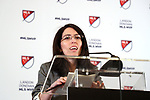 ATLANTA, GA - DECEMBER 05: MLS Vice President of Communications Marisabel Munoz. The 2018 MLS MVP Presentation was held on December 5, 2018 at the Arthur Blank Family Center in Atlanta, GA.