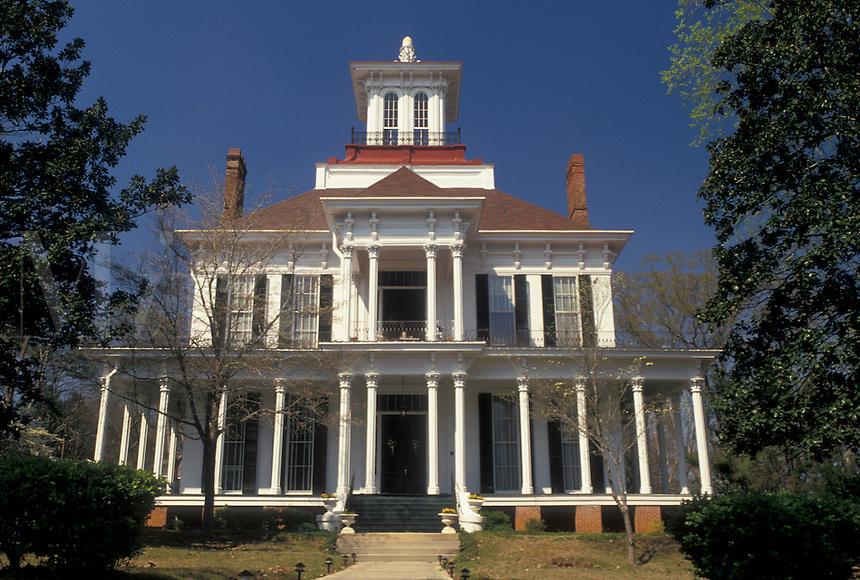 antebellum, home, Eufaula, Alabama, AL, Kendall Manor in Eufaula