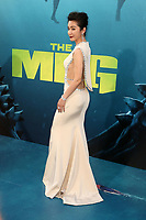 HOLLYWOOD, CA - August 6: Li Bingbing, at Warner Bros. Pictures And Gravity Pictures' Premiere Of &quot;The Meg&quot; at TCL Chinese Theatre IMAX in Hollywood, California on August 6, 2018. <br /> CAP/MPI/FS<br /> &copy;FS/MPI/Capital Pictures