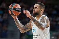 Real Madrid Jeffery Taylor during Turkish Airlines Euroleague match between Real Madrid and Khimki Moscow at Wizink Center in Madrid, Spain. November 02, 2017. (ALTERPHOTOS/Borja B.Hojas) /NortePhoto.com