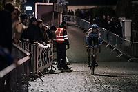 Michael Vanthourenhout (BEL/Marlux-Napoleon Games)<br /> <br /> Elite Men's Race<br /> Superprestige Diegem / Belgium 2017