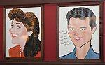 Judy Kaye & Matthew Broderick.attending the unveiling of the Sardi's Kelli O'Hara Caricature in New York City on June 5, 2012.