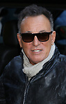 Bruce Springsteen arrives at the Walter Kerr Theater for the official opening night  performance of 'Springsteen On Broadway' on October 12, 2017 in New York City.