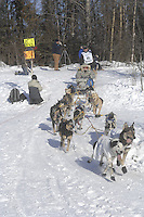 Rick Larson Anchorage Start Iditarod 2008.