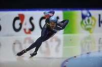 SCHAATSEN: HEERENVEEN: Thialf, World Cup, 02-12-11, 500m B, Shani Davis USA, ©foto: Martin de Jong