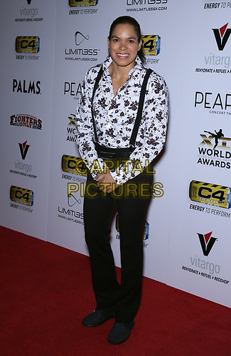 03 July 2019 - Las Vegas, NV - Amanda Nunes. 11th Annual Fighters Only World MMA Awards Arrivals at Palms Casino Resort. <br /> CAP/ADM/MJT<br /> © MJT/ADM/Capital Pictures