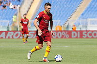 Roma's Cengiz Under in action during the Italian Serie A football match between Roma and Chievo Verona at Rome's Olympic stadium, September 16, 2018.<br /> UPDATE IMAGES PRESS/Riccardo De Luca