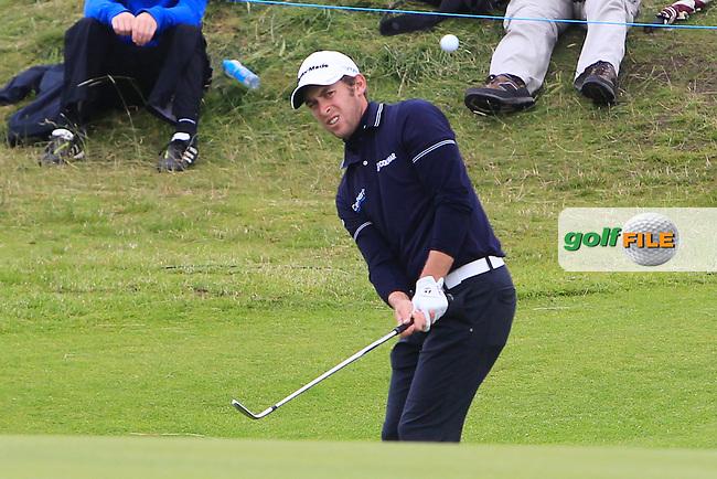 Lorenzo Gagli (ITA) on the 14th during round 2 of the Irish Open at Royal Portrush GC,Portrush,County Antrim,Ireland. 29/6/12.Picture Fran Caffrey www.newsfile.ie